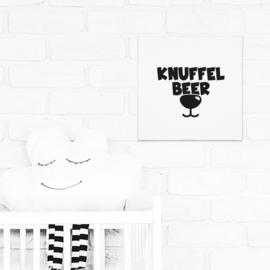 Canvas | Knuffelbeer