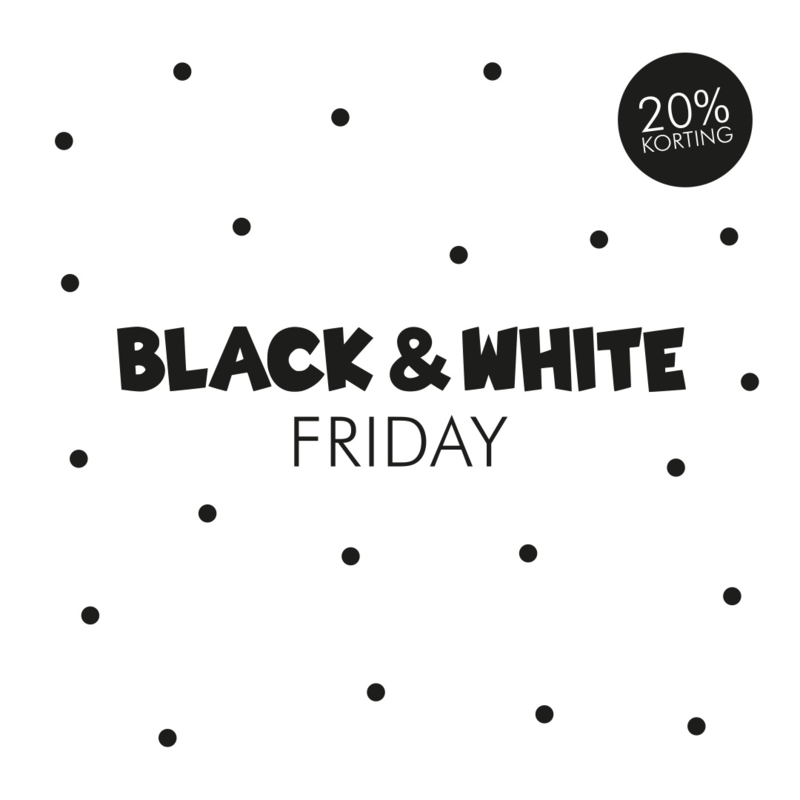 Black (& White) Friday 2019