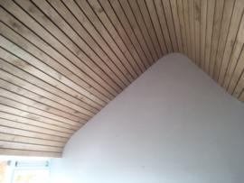 Eiken plafondbetimmering