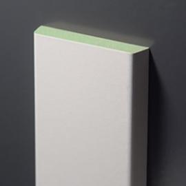 Koplatten / architraven