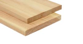 Douglas plank 2.5x25cm fijn gezaagd