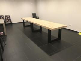 Eiken kantine tafel XXL