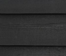 Douglas zweeds rabat 17.5cm zwart geïmpregneerd