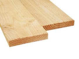 Douglas plank 3x17.5cm fijn gezaagd