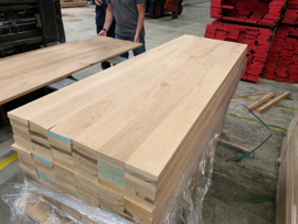 Eiken panelen 40mm massief verlijmd 65x240cm