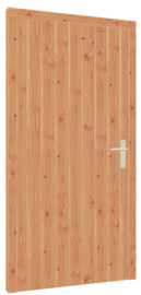 Douglas kozijn, enkele deur hout