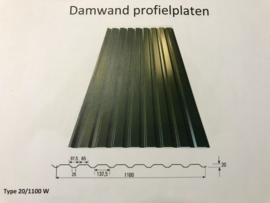 Damwand groen