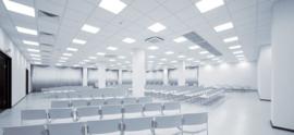 Dalle LED 36 W Blanc commercial 60 cm x 60 cm