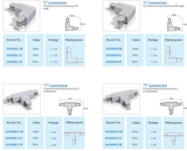 Tracklight LED 28 W 3000K 24° pour rail à 3 phases