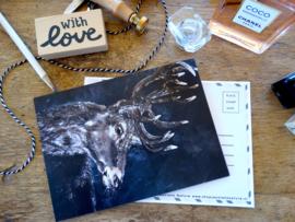 Postcard hert