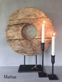 Tafelkandelaar -Puur Wonen- ZWART Marlous (20cm)