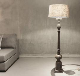 Vintage Grey Landelijke Vloerlamp