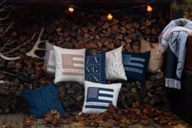 Lexington Denim Logo Pillow