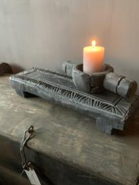 Houten Carved Bajot