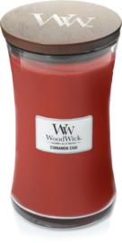 L Woodwick Candle  CINNAMON CHAI