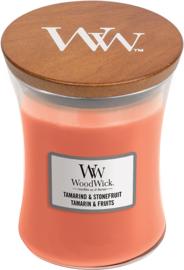 M Woodwick Candle TAMARIND & STONEFRUIT
