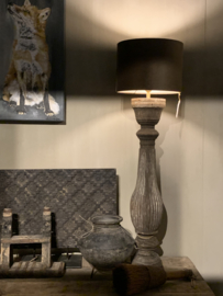 Houten Baluster Lamp