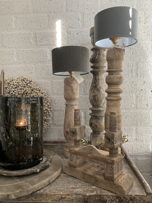 Oude Baluster Lamp
