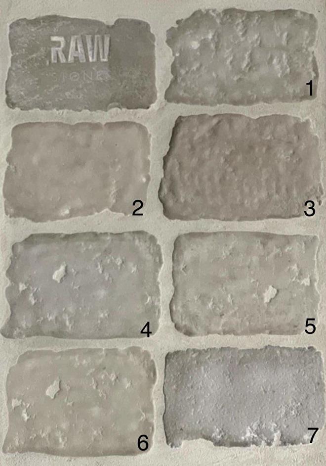 Raw Stones Kleuren