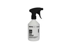 Tex Coat 500ml / waterafstotende beschermer voor stof, kap en leer.