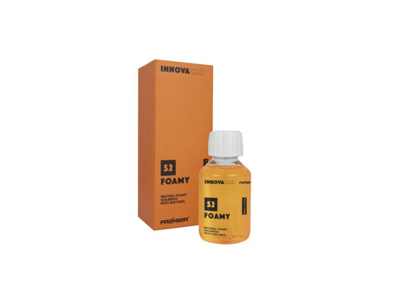 Foamy 100ml / neutrale schuimshampoo met enzymen.