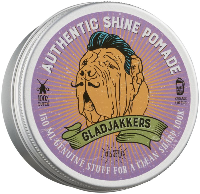 Gladjakkers Authentic Shine Pomade