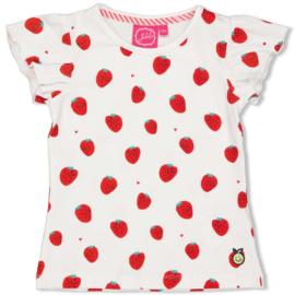 Jubel t-shirt Strawberry  - Tutti Frutti