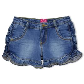 Jubel jeansshort blauw