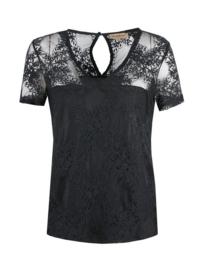 Shirt kant zwart