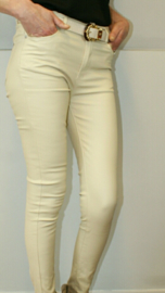Coated jeans beige Toxic