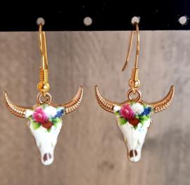 Oorhangers goud 'Buffel'
