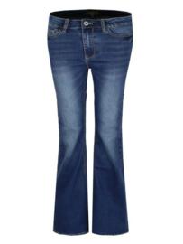 Flared jeans blauw David & Alex