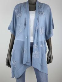 Kimono blauw
