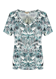Shirt Palmblad groen