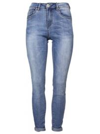 Jeans high waist blauw Norfy
