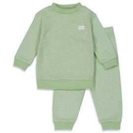 Feetje wafel pyjama groen 'Summer Special'