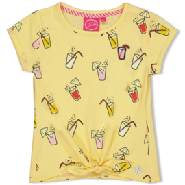 Jubel t-shirt Lemonade geel  - Tutti Frutti