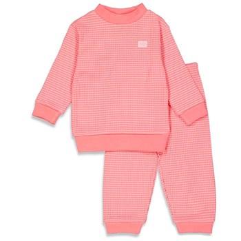 Feetje wafel pyjama roze 'Summer Special'