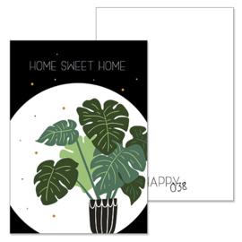 Woonkaart: Home sweet home (K1521045)