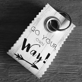 Canvas label: Go your own way