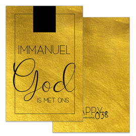 Kadokaartje: Immanuel