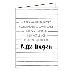 Dubbele kaart: Alle Dagen (D1015012)