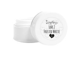 Love 2 Builde Gel Frosted White - 14 gram