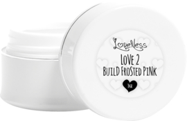 Love 2 Build Frosted Pink - 14 gram