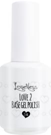Love 2 Base ( gel polish ) 15 ml