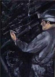 Mijnwerker ( het afdichten van.. )