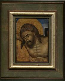 Hoofd v.d gekruisigde. Italo Kretisch-16e 1700 eeuw