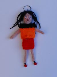 girl met pijpenkrullen