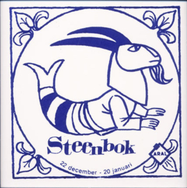 Steenbok:  22 dec. - 20 jan.