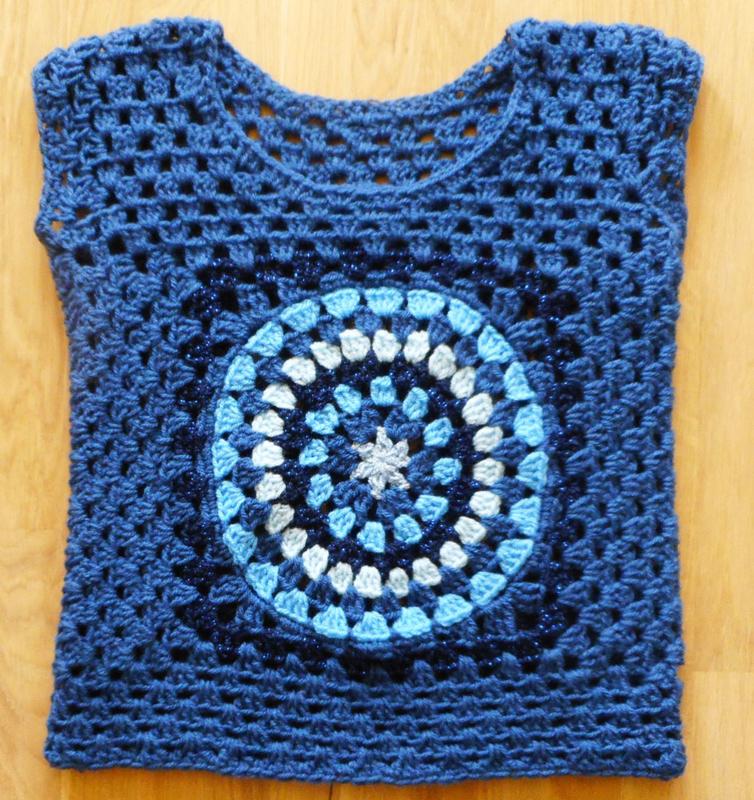 Marine blauwe trui